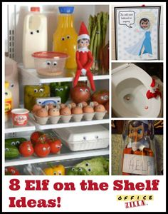 elf on the shelf at the office. Black Bedroom Furniture Sets. Home Design Ideas