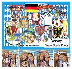 Germany Photo Booth Props