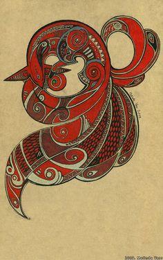 Nine_tailed_Fox_by_WhiteRaven90.jpg (541×864)