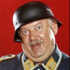 "John Banner as Sgt. Shultz, Hogan's Heroes :) ""I know Nufinck!"""