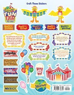 FUN Fair Stickers  wsww.stmarys-stuart.org