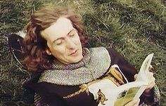 "Eric Idle reading (""Holy Grail"")."