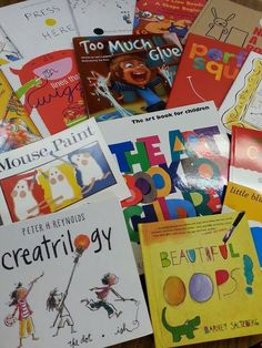 Tales from the Traveling Art Teacher!: An Art Room Library 2: Early Readers and Popular Literary Characters ^
