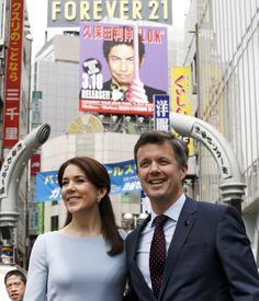 Se billederne: Frederik og Mary i Japan | www.bt.dk