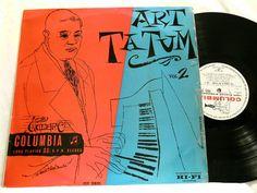 ART TATUM Genius of # 2 piano solos Columbia Clef 10053 UK LP