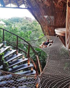 Treehouse goals in Tulum! : CozyPlaces
