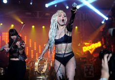 Lady Gaga performs on the Doritos #BoldStage in an exclusive performance benefitting her Born This Way Foundation at SXSW.