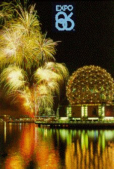 1986 World's Fair, Vancouver, Canada. I was in 6th grade and blown away by how fun this was. I had a little passport that we would take to each country's pavilion to get a stamp. I wish I still had that passport.