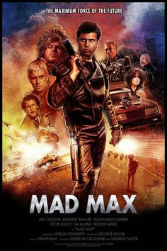 Mad Max poster, t-shirt, mouse pad Cinema Tv, Cinema Posters, Film Posters, Film Science Fiction, Fiction Movies, Cult Movies, Love Movie, Movie Tv, Max Movie