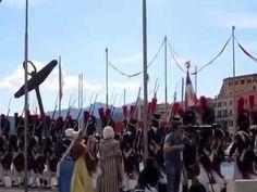 Napoleone Bonaparte sbarca all'Elba. Rievocazione del 4 maggio 2014 (part1)
