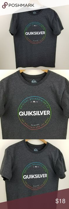 "QuikSilver New Without Tag Man Tshirt QuikSilver New Without Tag Man Tshirt   Surfers welcome ;) Or everyday fashion shirt.  Not Worn ( Prefer Real Pictures)  Size: Medium  Measurements Laid Flat: Pit to pit: 20"" Length: 27"" Sleeves: 7.5"" Quiksilver Shirts Tees - Short Sleeve"