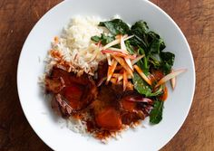 Spicy Pork with Pickled Kale