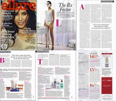Featured AGAIN in Allure magazine! This time for our revolutionary anti-aging products. Rodan + Fields will never have to pay for advertising as long as we're enjoying free publicity like this! Want to get your own anti-aging regimen? Follow this link to discover the most beautiful skin you never knew you had: https://asavage.myrandf.com/Shop/REDEFINE