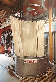 I gotta have this in the barn or behind the garage....as long as it's screened in....mosquitos here would eat you alive if you tried this out doors.