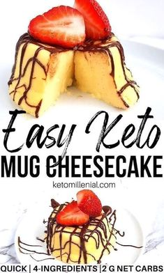 Ridiculously creamy keto cheesecake in microwave with just 4 ingredients. This keto cheesecake in a cup recipe is so easy to make and requires no baking skills. If you've been craving for a moist and satisfying keto cream cheese, give it a try now! Desserts Keto, Keto Friendly Desserts, Keto Dessert Easy, Keto Snacks, Dessert Recipes, Dinner Recipes, Holiday Desserts, Lunch Recipes, Protein Snacks
