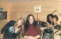 "Mayhem Archives on Twitter: ""Old The True Mayhem From left to right Dead, Euronymous & Hellhammer https://t.co/Pf9J11CATS"""
