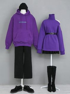 korean outfits which looks great. Korean Fashion Trends, Korea Fashion, Cute Fashion, Fashion Outfits, Fashion Couple, Mode Ulzzang, Matching Couple Outfits, Ulzzang Fashion, Kawaii Clothes
