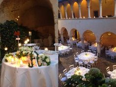 umbria wedding table settings