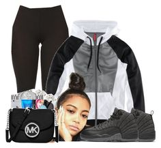 """""""Untitled #929"""" by shegr00vy ❤ liked on Polyvore featuring H&M and NIKE"""