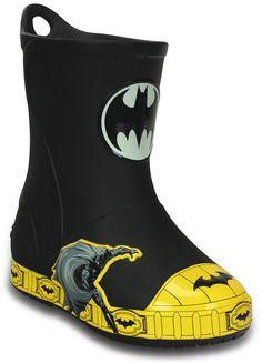 d5f8204983cfbb crocs Bump It Batman Rain Boot (Toddler Little Kid)