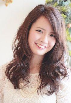 zann hair worx:デジタルパーマ ミディアムスタイル