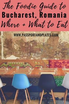 Traveling to Bucharest, Romania? This guide includes all the best foodie finds in the city including the must-try food in Bucharest and where to eat them! Click to read!   #Bucharest #BucharestTravel #FoodieTravel #Romania #RomaniaTravel