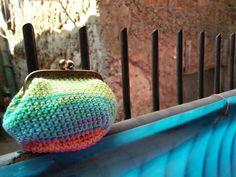 color splash coin purse
