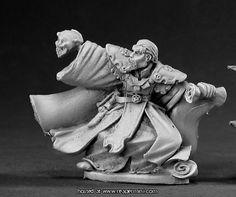 Dark Heaven Legends > Callus Darklore, Necromancer    Reaper Miniatures :: Miniatures