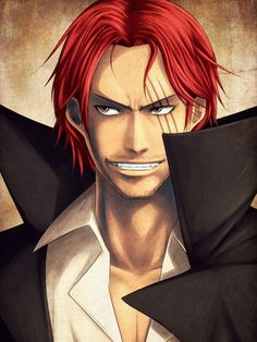 37 Best Red Haired Shanks Images One Piece Anime Red Hair