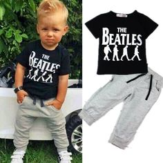 Retail New summer style fashion boys clothing set tracksuit children baby boy clothes sports suit 1 set free shipping