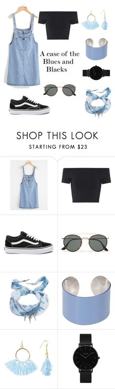 """"""""""" by emmaaa28 ❤ liked on Polyvore featuring Helmut Lang, Vans, Ray-Ban, DANNIJO, Maison Margiela, Taolei and CLUSE"""