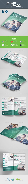 Education Bifold / Halffold Brochure Template PSD, Vector EPS - half fold brochure template
