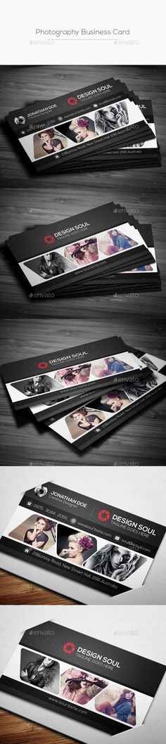 Photography Business Card Template PSD #design Download: http://graphicriver.net/item/photography-business-card/13459320?ref=ksioks