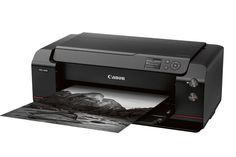 Let the new arms…er…inkjet race begin. Canon's PRO inkjet printer line consists of three (the and air-fed, professionals-oriented pho… Print Server, Fast Print, Canon Ink, Shops, Photography Accessories, Photo Accessories, Thing 1, Image Processing, Photo Printer