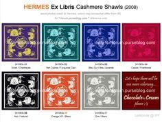 Hermes Ex Libris Shawls