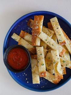 Potato Laced Bread Sticks