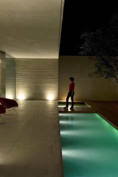 Pool - House in Sao Paulo by Marcio Kogan