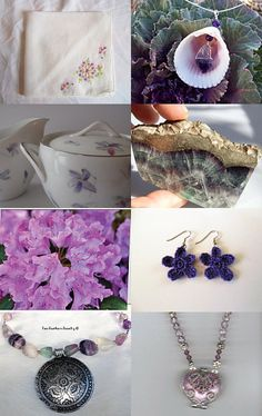 """Garden Violets"" by FlynnTellsAStory  --Pinned with TreasuryPin.com"