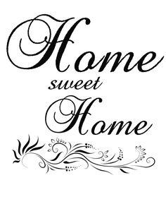 ~DECO-SZUFLADA~: home sweet home graphics