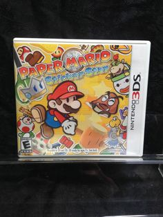 Paper Mario: Sticker Star for Nintendo 3DS. Also for 3DS XL, 2DS