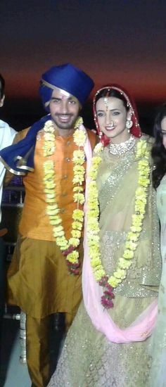 Sanaya Irani, Mohit Sehgal get married in Goa. #Bollywood #Fashion #Style #Beauty #Handsome #Desi #Wedding