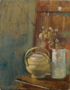 Victor Pasmore, Still Life Victor Pasmore, Art Stand, Sculptures For Sale, Art Inspo, Flower Art, Still Life, Oil On Canvas, Original Artwork, Abstract Art