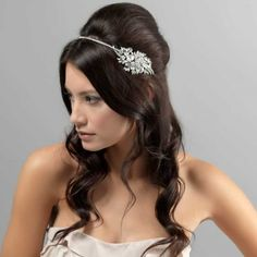 Exquisite Starlet Side Tiara - Wedding Tiaras - Glitzy Secrets