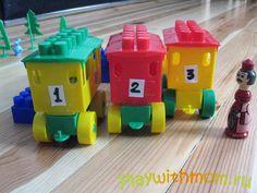 Автобусы из конструктора