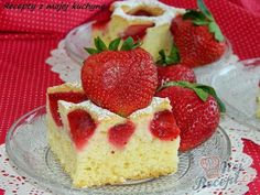 Recept Křehká jahodová bublanina Cheesecake, Recipes, Food, Cheesecakes, Recipies, Essen, Meals, Ripped Recipes, Yemek