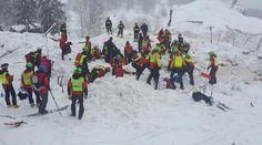 Ιταλία: Στους 7 οι νεκροί από τη χιονοστιβάδα στο ξενοδοχείο Rigopiano