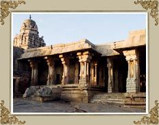 Lepakshi Temple. Lepakshi is a small village situated fourteen(14) KMs to the east of Hindupur, Anantapur District of Andhra Pradesh. We can  reach here  by bus from Hindupur