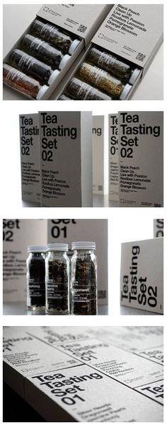 Leticia Sáenz Tea Tasting Set - The Dieline -