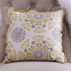 Decorative Throw Pillow with Golden Sunbursts of by CLOUDHUNTERCO, $55.00