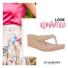 Tamanco anabela Di Valentini na loja A Ideal Tecidos . ♥